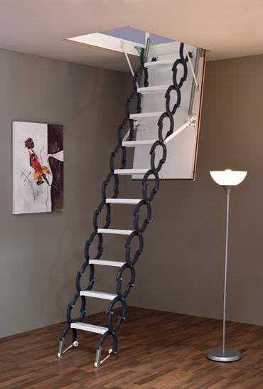 MINKA Elegance podkrovné schody, Rozmery 120x60 cm