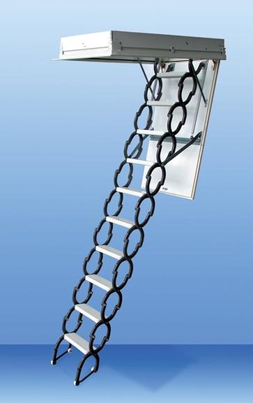 MINKA Euro Star podkrovné schody, Rozmery 120x60 cm