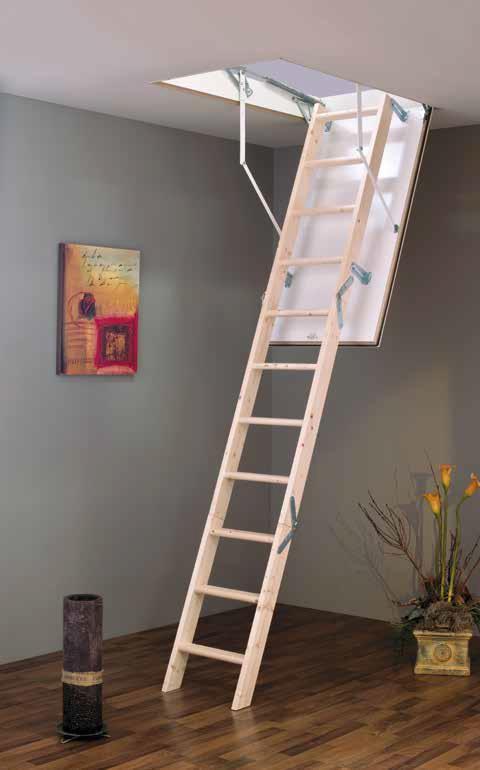 MINKA MC Step podkrovné schody, Rozmery 90x60 cm