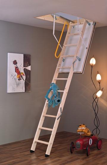 MINKA Polar 60 podkrovné schody, Rozmery 120x60 cm