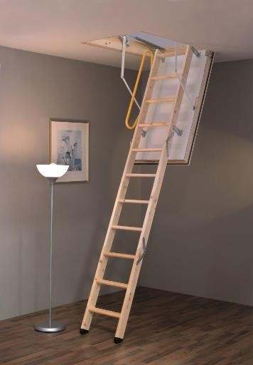 MINKA Polar Extrem podkrovné schody, Rozmery 120x60 cm
