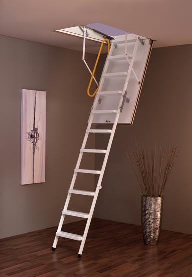 MINKA Steel podkrovné schody, Rozmery 120x60 cm