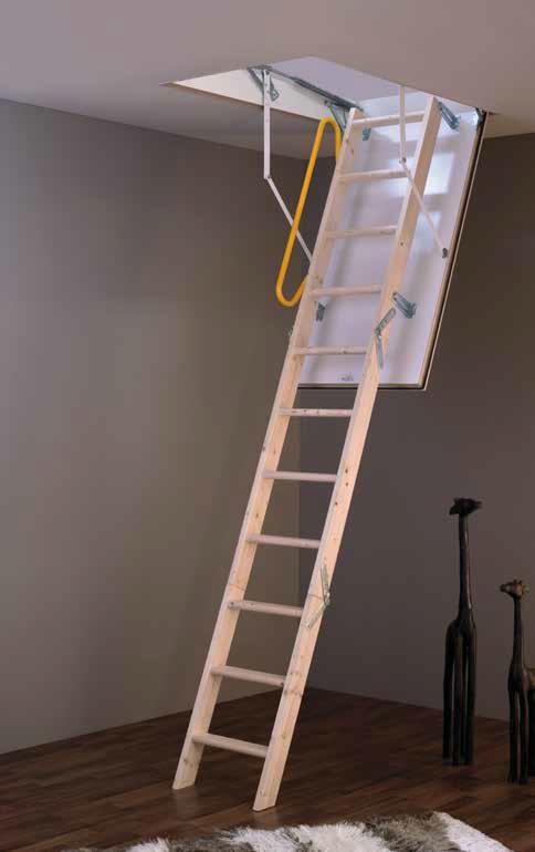 MINKA Tradition Plus podkrovné schody, Rozmery 120x60 cm