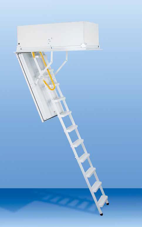 MINKA Type 1 Passiv Plus protipožiarne schody, Rozmery 120x70 cm