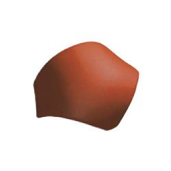 Tondach rozbočovací hrebenáč X hladký 17cm, Úprava a farba 10 Engoba červená