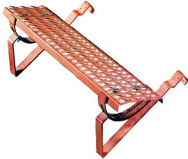 Tondach univerzálny stúpací komplet dlhý s profilovaným držiakom, Úprava a farba 10 Engoba červená
