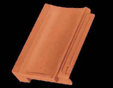 Tondach STODO pultová škridla, Úprava a farba 12 Engoba medenohnedá