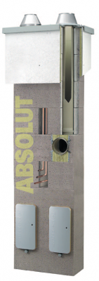 Schiedel ABSOLUT jednoprieduch ø140mm 6,33m